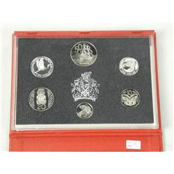 1990 New Zealand Proof Coin Set.