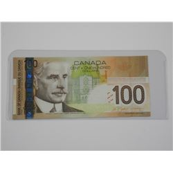 Bank of Canada 2004 $100.
