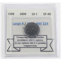 Canada 1899 10 Cents EF-40.