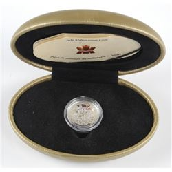 1999 - July Millennium Sterling Silver Coin