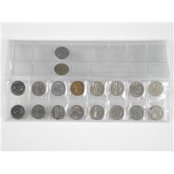 Lot of 5c Coins.