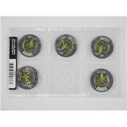 2014 - Wait for me Daddy $2.00 Coin 5-Pack Set