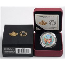 RCM 2015 50 Cent Lenticular Coin- Holiday Toy Box.