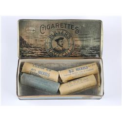 Boxed - 4 Rolls of Nickels (40 coins in each = $2.