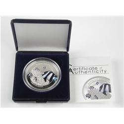 2015 - .925 Silver $5.00 Marine Life Protection -