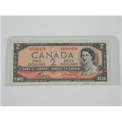 1954 Bank of Canada Two Dollar Note