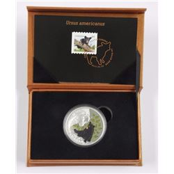 2015 $20 Fine Silver Coin and Stamp Set - Baby Ani