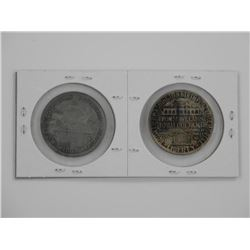 Comm. Pair - B.T. Washington and Colombian Coins 1