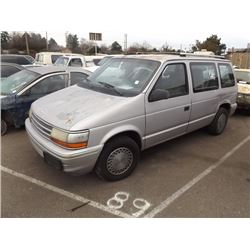 1991 Plymouth Voyager