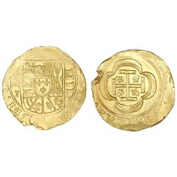 Mexico City, Mexico, cob 4 escudos, (1714)J, ex-1715 Fleet.