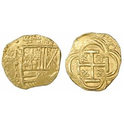 "Bogota, Colombia, cob 2 escudos, Philip IV, assayer A below mintmark NR to left (NRA), ex-""Mesuno ho"