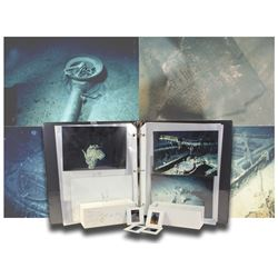 Group of 45 photographs and 194 slides taken by Adam Jahiel during the 1987 Titanic expedition, ex-S
