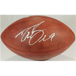 Drew Brees Signed Official NFL Game Ball (Brees Hologram)