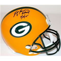 "Brett Favre Signed LE Packers Full-Size Helmet Inscribed ""4 Retired 7/18/15"" #22/44 (Favre Hologram"