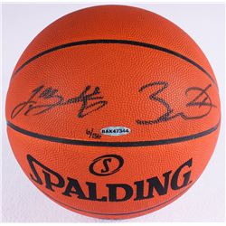 LeBron James  Dwyane Wade Signed LE Official NBA Game Ball (UDA COA)