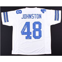 "Daryl ""Moose"" Johnston Signed Cowboys Jersey (Radtke COA)"