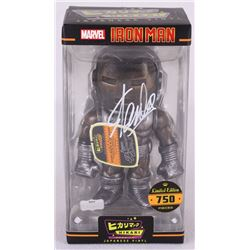 "Stan Lee Signed ""Iron Man Raw Steel"" Marvel Hikari Vinyl Action Figure (Radtke COA)"
