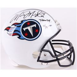 "Marcus Mariota Signed LE Titans Full-Size Helmet Inscribed ""Titan Up!"" (UDA COA)"