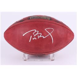 Tom Brady Signed LE Patriots Super Bowl XLIX Logo Official NFL Game Ball (TriStar Hologram)