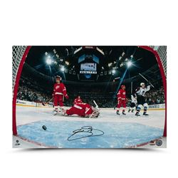 Joe Sakic Signed Avalanche Goal Celebration 16x24 Photo LE 50 (UDA COA)