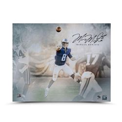 "Marcus Mariota Signed Titans ""Rising Star"" LE 16x20 Photo (UDA COA)"