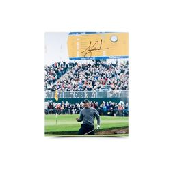 "Tiger Woods Signed ""Birdie At The British"" LE 16x20 Photo (UDA COA)"
