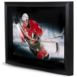 Wayne Gretzky Signed Team Canada LE 16x24 Custom Framed Hockey Stick Blade Display (UDA COA)