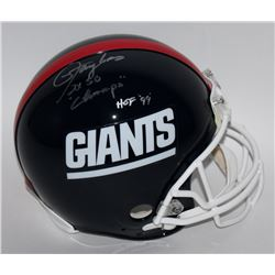 "Lawrence Taylor Signed Giants LE Full-Size Authentic Proline Helmet Inscribed ""2x SB Champs""  ""HOF '"