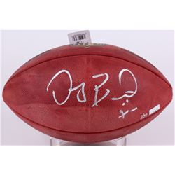 "Dez Bryant Signed Official NFL Game Ball Inscribed ""X"" (Panini COA)"