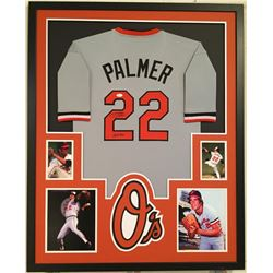"Jim Palmer Signed Orioles 34x42 Custom Framed Jersey Inscribed ""HOF 90"" (JSA COA)"