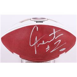 Cam Newton Signed LE Auburn 2011 National Champions Logo Football (UDA COA)