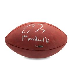 "Allen Robinson Signed NFL ""The Duke"" LE Football Inscribed ""1st Pro Bowl '16"" (UDA COA)"
