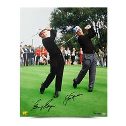 Gary Player  Jack Nicklaus Signed 16x20 Photo (UDA COA)