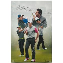 "Rory McIlroy Signed ""Destiny Fulfilled"" LE 16x24 Photo (UDA COA)"