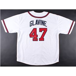 "Tom Glavine Signed Braves Jersey Inscribed ""HOF 2014"" (Radtke COA)"
