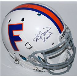 "Steve Spurrier Signed Florida Gators Throwback Full-Size Authentic Pro-Line Helmet Inscribed ""66 Hei"