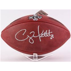 "Clay Matthews Signed ""The Duke"" NFL Super Bowl XLV Official Game Ball (Radtke COA)"