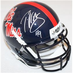 Patrick Willis Signed Ole Miss Rebels Mini Helmet (Radtke COA)