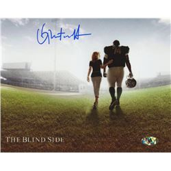 "Quinton Aaron Signed ""The Blind Side"" 8x10 Photo (MAB Hologram)"