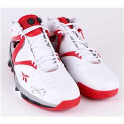 Yao Ming Signed Pair of (2) Reebok Yao HexRide Shoes (JSA ALOA)