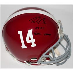 "Trent Richardson Signed Alabama Crimson Tide Full-Size Authentic Pro-Line Helmet Inscribed ""09  11 N"