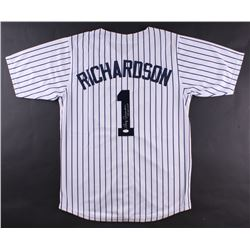 "Bobby Richardson Signed Yankees Jersey Inscribed ""60 W.S. MVP"" (JSA COA)"