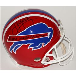 "Jim Kelly Signed Bills Full-Size Authentic Pro-Line Helmet Inscribed ""No One Circles the Wagons"" (St"