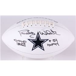 "Randy White Signed Cowboys Logo Football Inscribed ""Co MVP SB XII""  ""HOF 94"" (JSA COA)"