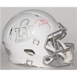 "Tom Brady Signed LE ""Super Bowl 51"" Custom Matte White ICE Authentic Proline Speed Helmet (Tristar H"