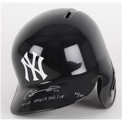 "Gary Sanchez Signed Limited Edition Yankees Full-Size Batting Helmet Inscribed ""MLB Debut 10/3/15"" #"