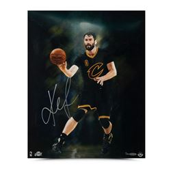 "Kevin Love Signed LE Cavaliers ""Intensity"" 16x20 Photo (UDA COA)"