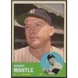 1963 Topps #200 Mickey Mantle