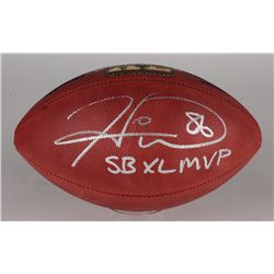 "Hines Ward Signed Super Bowl XL Official NFL Game Ball Inscribed ""SB XL MVP"" (JSA COA)"