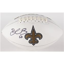 Brandin Cooks Signed Saints Logo Football (JSA COA)
